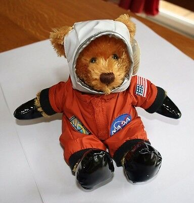 NASA Space Astronaut Teddy Bear STS 135 Space Shuttle Plushland