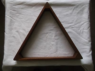 Old Snooker / Pool Wooden Triangle