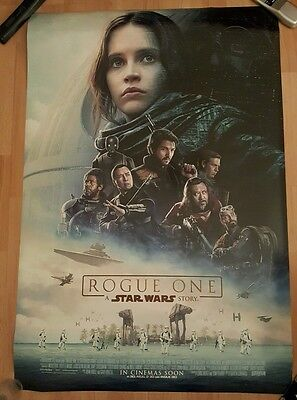 Star Wars Rogue One Official Cinema One Sheet Poster
