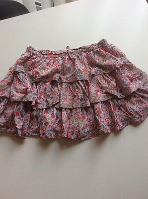 Girl's NEXT Pink Multi Small Floral Fully Lined RaRa Style Skirt Age 10 years