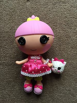 Lalaloopsy Doll Trinket Sparkles Complete With Pet
