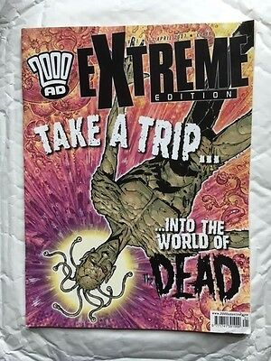 2000Ad  Extreme Edition No 21 In Very Good Condition Judge Dredd