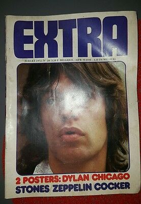 EXTRA N°20   LED ZEPPELIN ROLLING STONES HOT TUNA JEFFERSON AIRPLANE cocker