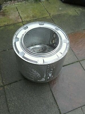 Fire Pit Wood burner Washing Machine Drum Upcycled Camping Fire Incinerator