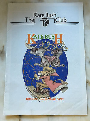 The Kate Bush Club Newsletter Christmas 1980 Issue 8