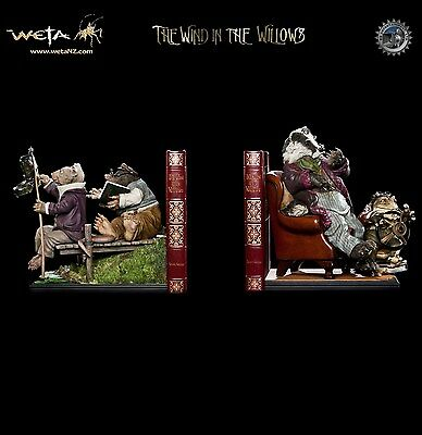 THE WIND IN THE WILLOWS BOOKENDS Weta Sideshow
