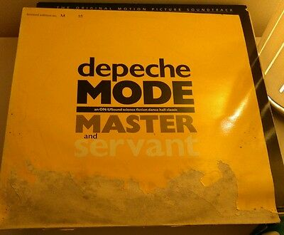 Depeche Mode  Master & Servant/Are People People - Ltd Numbered Copy M 55