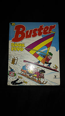 Buster Book 1990 Vintage Annual