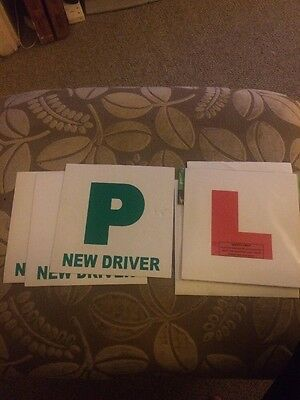 learner driver plates