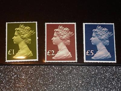 Gb 1977 High Value Definitives Mint