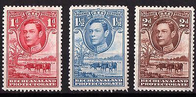 Bechuanaland King George VI Mint Hinged SG119-121