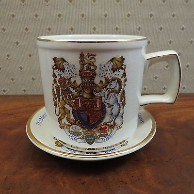 PRINCE CHARLES LADY DIANA Wedding Commemorative Cup & Saucer, Woods, NO RESERVE!