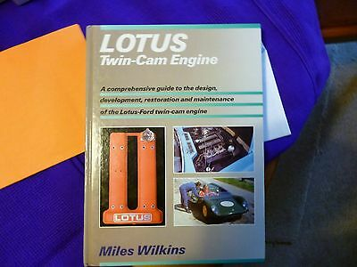 Lotus Twin Cam Engine Book By Miles Walker