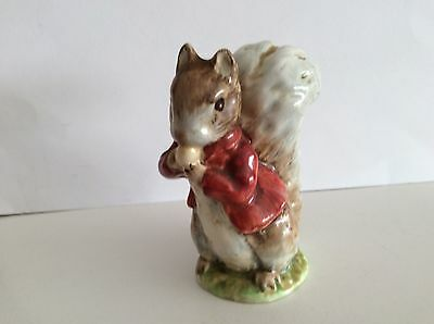 Beswick Beatrix Potter Timmy Tiptoes BP3a :- Squirrel Figure, Ornament.