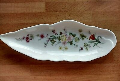 Wedgwood Mirabelle bone china dish - in excellent condition