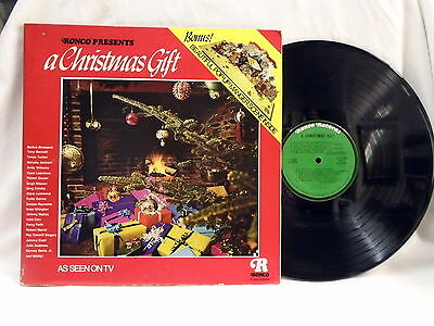 "Ronco ""A Christmas Gift"" Nativity Pop up vinyl LP record 1974."