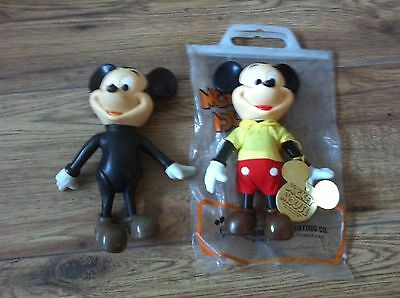 Mickey Mouse, Vintage Disney, Hard Plastic, Collectibles, Vintage Toy
