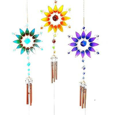 Large Sunflower Windchime X 3 Colours Available