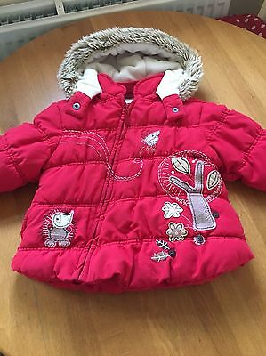 1.5 -2 years Girls Red Coat next