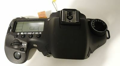 CANON EOS 7D mk 1 Top Cover Assembly WITH LCD / NO WINDOW COVER REPAIR PART