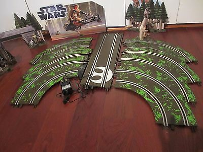 Star Wars Scalectrix Endor track and scenery