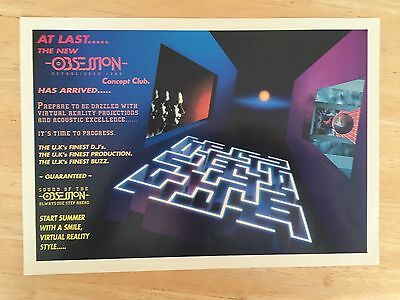 MINT CONDITION Obsession Rave Flyer 1993