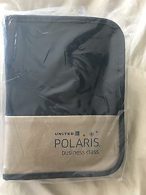 UNITED AIRLINES POLARIS BUSINESS CLASS Amenity Kit - Cowshed Products New Sealed