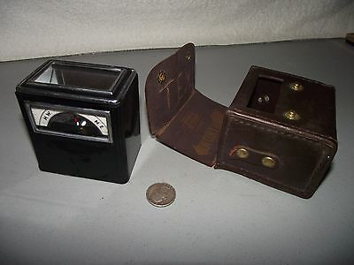 Antique/Vintage Aqua Survey & Instruments Co. Box Compass Cleveland Pipecrafters