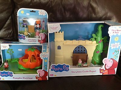 Peppa Pig Once Upon a Time Storytime Castle, Figures and Pumpkin Carriage