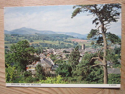 Vintage Brecon and the Beacons Postcard