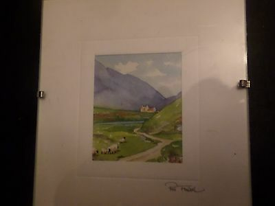 Print - Scotland in Minature by Pat Flavell