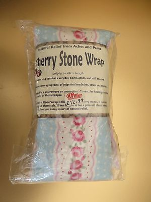 ** Cherry Stone Wrap. Microwavable. For Heat Also Use As Ice Pack.**