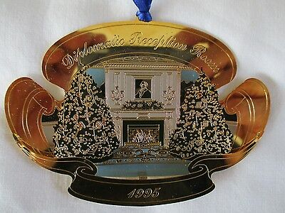 United States Secret Service Diplomatic Reception Room 1995 Christmas Ornament