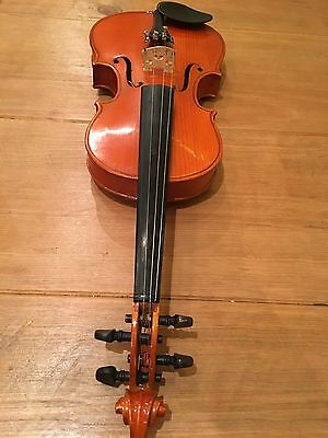 1/2 Size Violin, 2 Bows, Canvas Hard Case, Lovely Condition, Used For One Term!