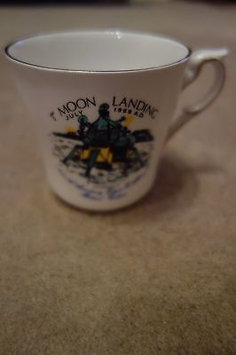 Original commemorative cup mug for the Apollo 11 mission Moon Landing July 1969