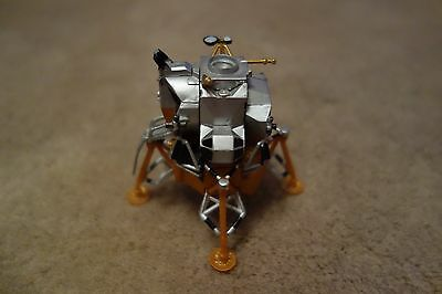 Plastic original vintage small model of Apollo 11 landing spacecraft