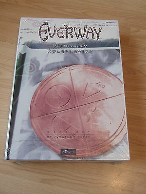 Everway Visionary Roleplay Fantasy Game (Sealed/New) Wizards of the Coast 1995