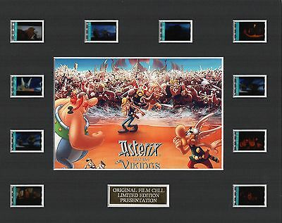* Asterix and the Vikings 35mm Film Display *