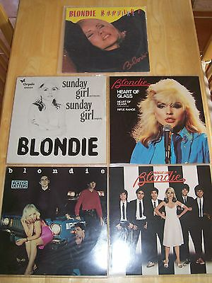 BLONDIE - ALBUMS COLLECTION - 2 x LP's - 3 x 12''