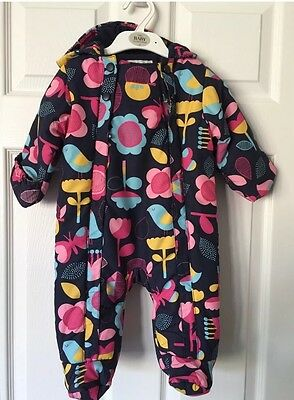 M&S Girls Snowsuit 3-6months