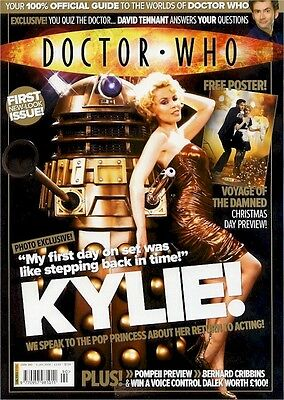 Doctor Who Magazine #390: Kylie!