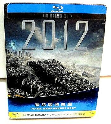 2012 from Taiwan blu-ray steelbook.New and sealed.