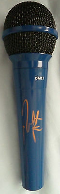 Nick Jonas Signed Microphone - Music Autograph, Jonas Brothers, Levels, Close