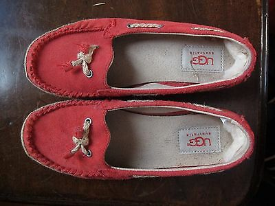 Très Jolies Chaussures UGG rouge taille33