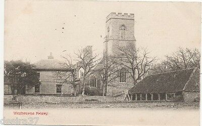 Norfolk Postcard Weybourne Nr Sheringham The Priory On Unposted Early Postcard