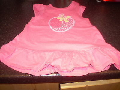 Mothercare pink vest dress Size 3-6 mths