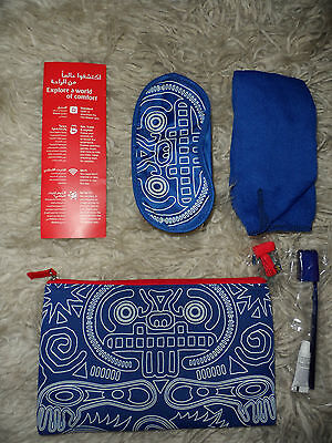 Emirates global traveller collection interactive amenity kit Blipper App 2016