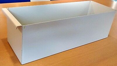 Metal Lloyd George boxes for Dental / Medical Notes 400mm long