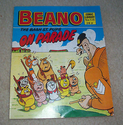 Beano Comic Library no 125 feat Bash Street Pups