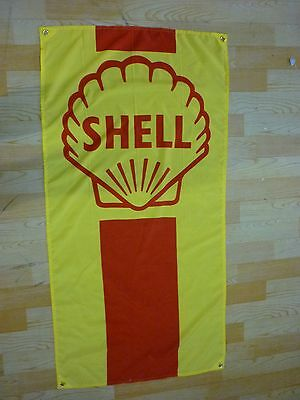 Shell Banner - ford chevy abarth 1932 hot rod abc bbc vintage mopar vm kdf split